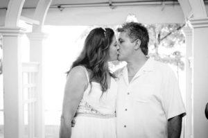 MJBE Wedding Photography - Couple Kissing