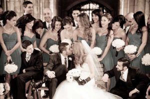 Luca and Anna group photo- MJBE wedding Photography