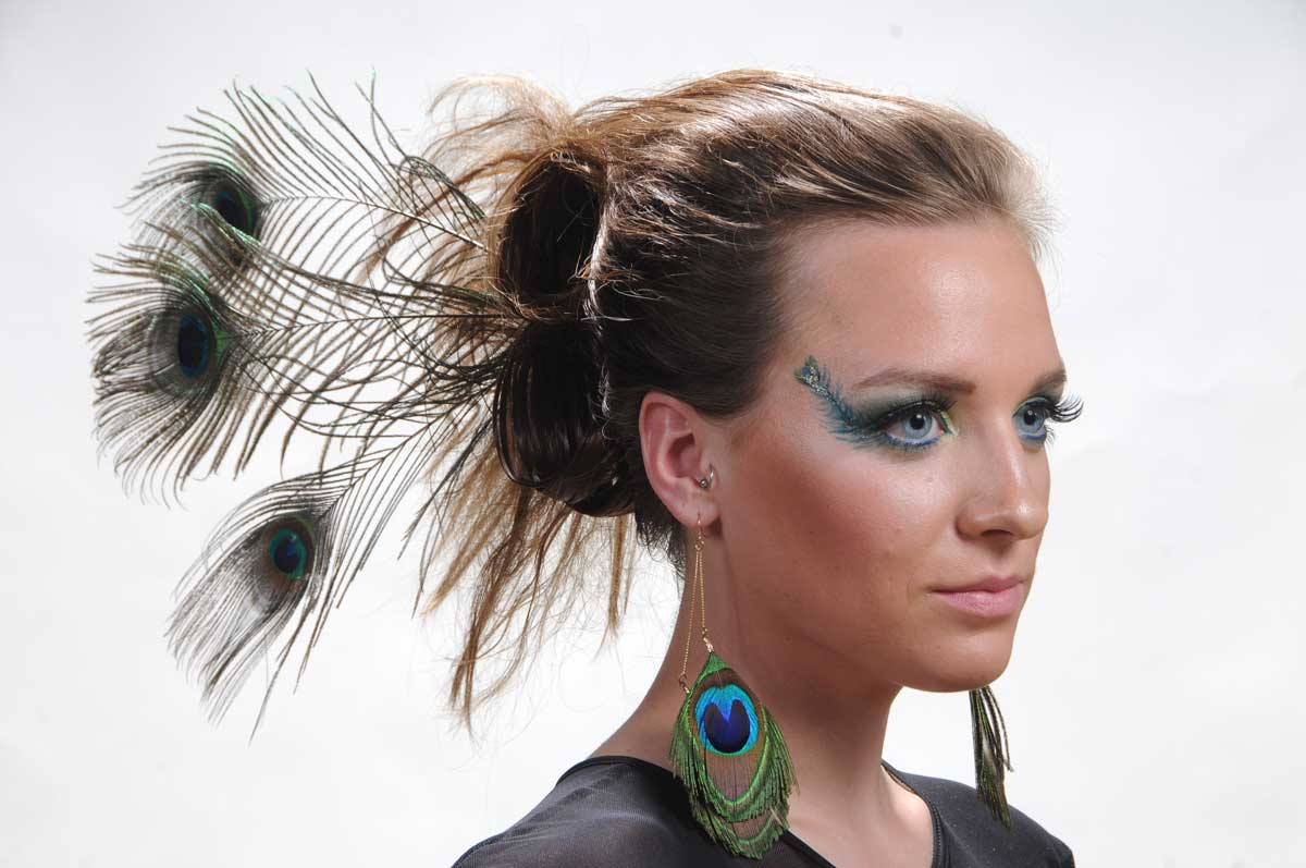 Artistic hair and make up photography